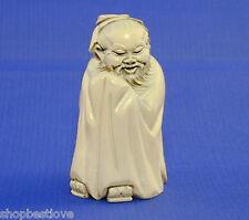 Old Man Oriental Figure - 3in