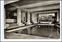 SONTHOFEN Allgäu Bayern 1957 Innenansicht Hallenbad Hotel Sonnenalp AK gelaufen