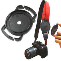 Camera Lens Cap Holder Cover Anti-Lost Buckle For 52mm 58mm 67mm
