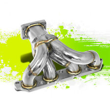 FOR 89-93 CELICA/COROLLA 4A-FE T25/T28 RACING PERFORMANCE TURBO MANIFOLD EXHAUST