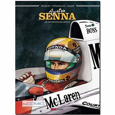 AYRTON Senna la storia di un myhtos MC LAREN pilota COMIC biografia
