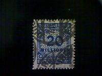 Stamps, Germany, Scott #302, used(o), 1923 Inflation Era, 20 million marks