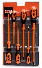 BAHCO 620-6 Slot & Phillips 6 Piece VDE Insulated Screwdriver Set (600 Series)