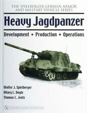 Schiffer Heavy Jagdpanzer Spielberger German Armor Military Vehicle Tank Series