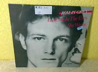 """ROMAN GREY (12""""MAXI) LOOK ME IN THE EYES [GER 1983 ZYX 5027 **SYNTH-POP] EX"""