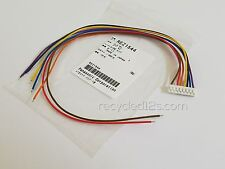 Technics 1200 1210 MK2 GLD MK5 MK5G 33 45 Start Stop On Off White Plug Wire Kit