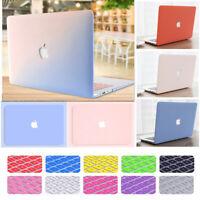 "Cream Ultra Slim Matte Hard Case+ Keyboard Cover for MacBook Air Pro 11"" 13"" 15"""