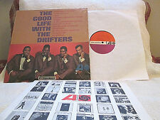 THE DRIFTERS..GOOD LIFE WITH..ATLANTIC 8103 ORG '64 MONO CLASSIC R&B SHRINK!