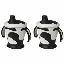 Haberman COW CUP 250ml (6m+) - Black & White- pack of 2