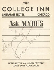 Roger Pryor - Printed Card Signed In Pencil Circa 1937