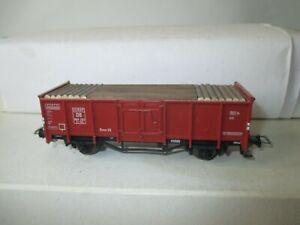 Fleischmann H0 Hochbordwagen der DB mit Holz beladen s.Foto o.OVP WH6317