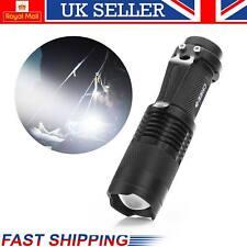 MINI torcia zoomabile impermeabile torcia Luce 3 modalità 7 W CREE Q5 LED Lampada Zoom
