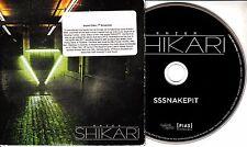 ENTER SHIKARI Snakepit 2011 UK 1-track promo CD Sssnakepit