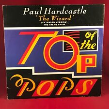 "PAUL HARDCASTLE The Wizard 1986 UK 12"" vinyl single TOP OF THE POPS THEME TV"