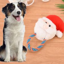Christmas Santa Claus Plush Cat Dog Pet Sound Toys Squeaker Squeaky Xmas Design!