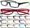 L266 Mens Womens Small Pocket Style Reading Glasses Lightweight Plastic Frame ^^