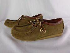 Lucky Brand Slippers Moccasins Sz 9 Brown Leather Shoes
