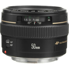 Canon EF 50mm f/1.4 USM Lens with Filter.  Perfect Condition.  Includes filter.