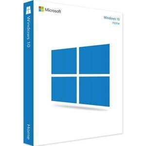 Microsoft Windows 10 Home /1 License Product Key Card En 32/64-bit