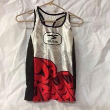 Sugoi BC Fizz Tank Women's Size XS Triathlon New Red/Black/White