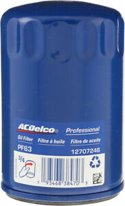 Engine Oil Filter-Durapack - Pack of 12 ACDelco GM Original Equipment PF63F