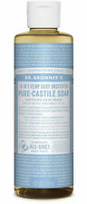 Dr Bronner's / Bronners 18-In-1 Hemp Baby Mild Pure-Castile Soap 4 oz Organic