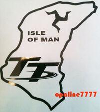 STICKER ISLE DE MAN ILE DE MAN ISLE OF MAN TT TROPHY TUNING AUTO MOTO SCOOTER
