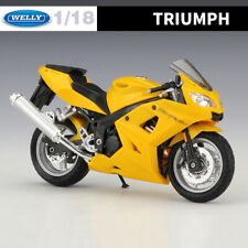 Triumph Daytona 600 Diecast Motorcycle Models WELLY 1:18 Scale Alloy Toys & Gift