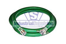 "2"" x 20' Green PVC Mud Suction Hose Trash Pump (FS)"