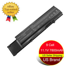 New 9 Cell Battery for Dell vostro 3400 3500 3700 7FJ92 4JK6R Y5XF9 04D3C Laptop