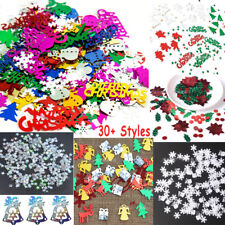 Christmas Iridescent Confetti Sequins Card Scrapbooking Decor Craft Nail Glitter