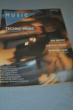 Music Technology Magazine Sep 88 Kevin Saunderson Norman Cook, Roland Octapad Ii