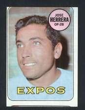 1969 Topps #378 Jose Herrera VG/VGEX RC Rookie Expos 50455
