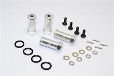 Traxxas 1/16 Mini E-Revo, Mini Slash, Mini Summit Alu Hex Adaptor +25mm - Silver