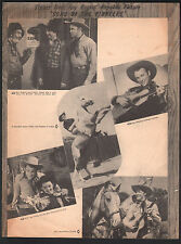 Lonely River 1942 Roy Rogers in Sons of the Pioneers Sheet Music
