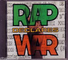 RAP DECLARES WAR Various Artists 1992 Avenue Rhino CD Too Short 2Pac Kid Frost