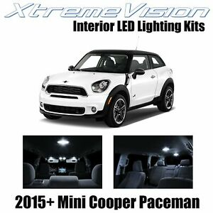 XtremeVision Interior LED for Mini Cooper Paceman 2015+ (17 PCS) Pure White