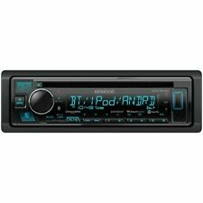Kenwood KDC-BT33 Single-DIN In-Dash CD Receiver with Bluetooth & SiriusXM