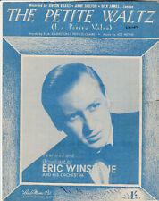 Original ERIC WINSTONE Sheet Music THE PETITE WALTZ (1950)