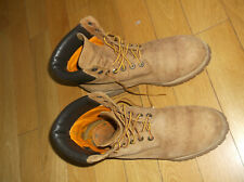 TIMBERLAND 6 INCH PREMIUM WATERPROOF ANKLE BOOTS, 72066, COLOR RUST, SIZE UK 10