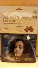 Lindsay Home Aesthetics Anti-Frizz Detangling Morrocan oil Hair Mask  2 step