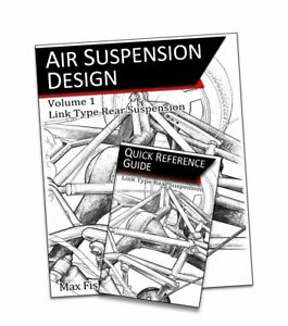 Air Suspension Design Book, Vol 1 – Link Based Rear Suspension - Paperback