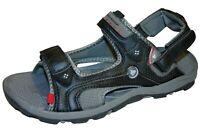 Men's Dunlop Sports Beach Trekking Walking Hiking Sandals Black Sizes 8 - 11