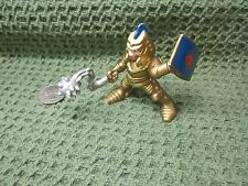 Imaginext Fisher Price Great Adventures Gold knight castle lion ball chain man