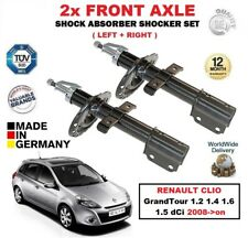 FOR RENAULT CLIO GrandTour 1.2 1.4 1.6 1.5 dCi 2008 > FRONT SHOCK ABSORBERS SET