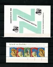 Netherlands, Child Welfare Stamp sheet (+surtax) IN ORIGINAL ENVELOPE, MNH, 1990