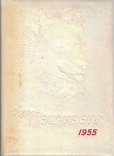 1955 Ritenour High School Yearbook, Melaureus, St. Louis, Missouri