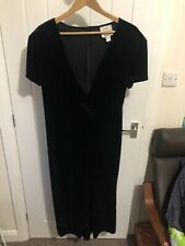 Joseph Ribkoff creation Black evening dress,uk 16 US 14 EU 42,VGC Cruise Vintage
