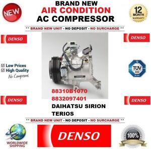 DENSO AIR CONDITION COMPRESSOR for 88310B1070 8832097401 DAIHATSU SIRION TERIOS