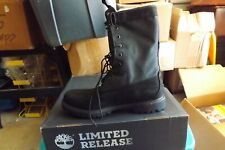 timberland boots limited release 1Ubp Sz 12 Black New in box display model